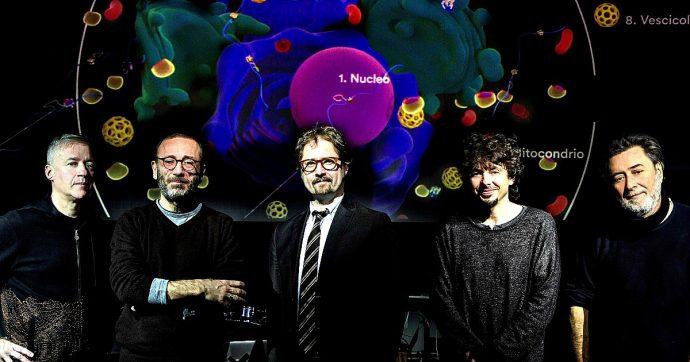 """Deproducers, il Dna diventa show psichedelico con l'ex Pfm Cosma e il filosofo Pievani: """"Dietro la scienza c'è poesia. E la lezione contro il razzismo"""""""