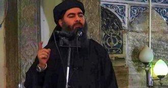 """Al Baghdadi morto, l'annuncio di Trump: """"Il capo dell'Isis morto in un raid in Siria dopo essere fuggito in un vicolo cieco, piangendo"""""""