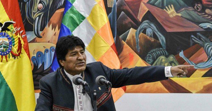 """Bolivia, Evo Morales annuncia nuove elezioni ma lascia in sospeso la sua ricandidatura: """"Se mi si chiede di andare a casa è golpe"""""""