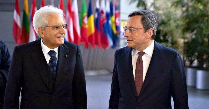 """Bce, Mattarella: """"Con Draghi sconfitto il rischio della fine dell'Euro. Oggi sistema economico Ue è più solido"""""""