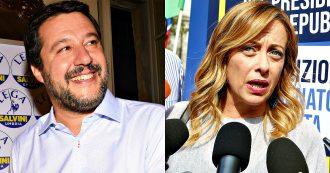 """Renzi a Porta a Porta, Salvini: """"Al voto il prima possibile"""". Meloni: """"Appello del leader di Italia Viva poco credibile"""""""