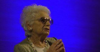 """Milano, Liliana Segre: """"Gli odiatori mi fanno pena, sprecano il loro tempo. Non ho mai parlato di vendetta, ma di pace e libertà"""""""