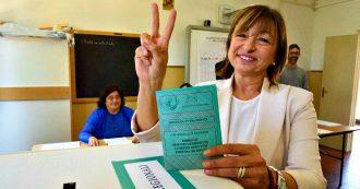Elezioni Umbria, trionfa il centrodestra con 20 punti di vantaggio: Tesei presidente. Lega al 36,9%, il Pd tiene il 22,3%, M5s crolla al 7,4%