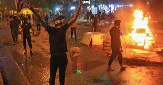 Iraq, uomini mascherati sparano sui manifestanti a Karbala: 18 morti, centinaia di feriti
