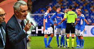 Napoli-Atalanta, i parlamentari tifosi azzurri presentano un'interrogazione al ministro dello Sport per il rigore non fischiato su Llorente
