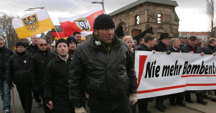 """Dresda, città proclama """"emergenza nazismo"""". Cdu di Merkel non vota: """"Errore linguistico"""""""