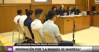 """Barcellona, 14enne violentata a turno da cinque uomini: il giudice riduce la pena perché la ragazza era """"incosciente"""""""