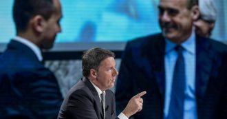 Quando Renzi diceva: 'Combatteremo sempre l'inquinamento da plastica'. Ora si batte contro la tassa che ne disincentiva la produzione