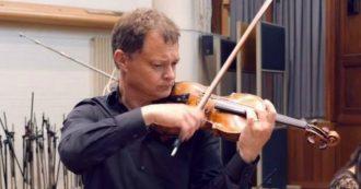 Dimentica in treno il suo violino da 300mila euro: è caccia al ladro. Stephen Morris doveva suonare con Andrea Bocelli