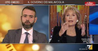 """Commissione Segre, Borgonovo vs Gruber: """"Senatrice non ha mai letto insulti contro di lei. Non è sui social"""". """"Ma cosa c'entra?"""""""