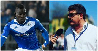 """Mario Balotelli, il capo ultras del Verona: """"Ululati nella sua testa, non potrà mai essere del tutto italiano. Anche noi abbiamo un neg** in squadra"""""""