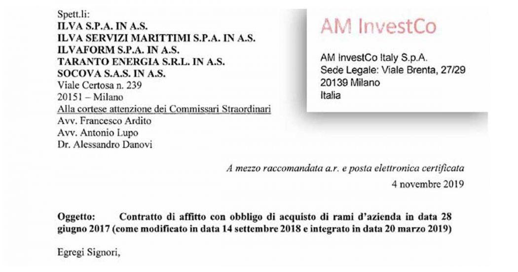 """Ex Ilva, ecco la lettera d'addio di ArcelorMittal: """"Impatto dirompente dall'eliminazione dello scudo penale"""". E minaccia causa allo Stato"""