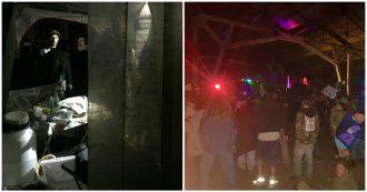 Livorno, il video dei rave party nell'ex fabbrica in cui è morta una 33enne: la serata con techno, alcol e droga