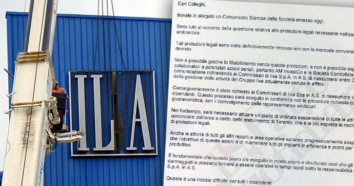"""Ex Ilva, ArcelorMittal annuncia addio. Governo convoca i vertici dell'azienda. Patuanelli: """"Non consentiremo la chiusura dello stabilimento"""""""