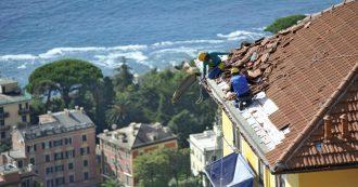 Liguria ostaggio del maltempo: ma dietro i danni ci sono anche cementificazione selvaggia e opere da completare