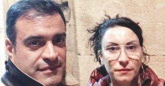"""La strana coppia: la neorenziana Occhionero e l'assistente Nicosia. """"Preghiamo S. Matteo"""""""