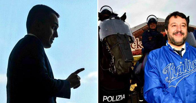 """Ex Ilva, rissa tra Di Maio e Salvini: """"I sovranisti sono col Paese o camerieri di multinazionali?"""". """"Questi cretini difendano i posti di lavoro"""""""