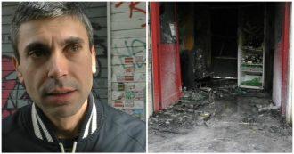 """Roma, a fuoco un altro locale a Centocelle. Il proprietario del Baraka Bistrot: """"Questa cosa è più grande di me"""""""