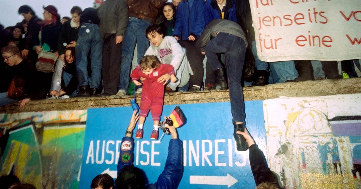 Muro di Berlino, se ci fosse ancora io in questa casa di Friedrichshain non potrei starci