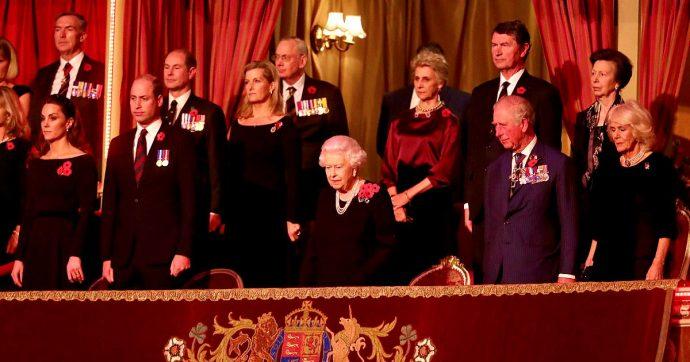 William e Kate riappaiono in pubblico insieme a Harry e Meghan. E c'è anche la Regina