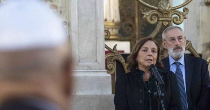 """Antisemitismo, Lamorgese: """"Parole di odio portano ad azioni violente. Ultimamente sono state sdoganate. Mai abbassare la guardia"""""""