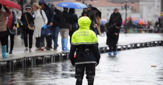Venezia, nel centro storico prevista piena di 190 centimetri: la peggiore acqua alta dal 1966