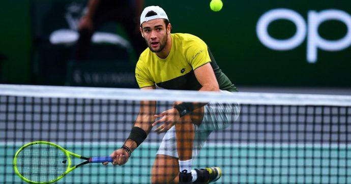 Matteo Berrettini, contro Federer c'è gara ma arriva la seconda sconfitta alle Atp Finals