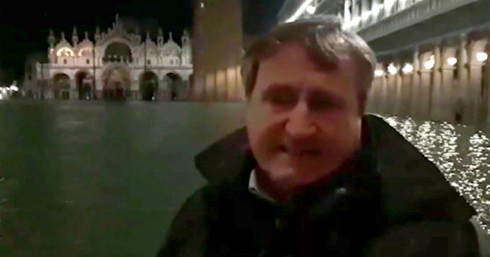 """Venezia, domenica acqua a 160 centimetri. Ordinanza Protezione civile: """"Rimborsi e stop a mutui per un anno. Brugnaro commissario"""""""