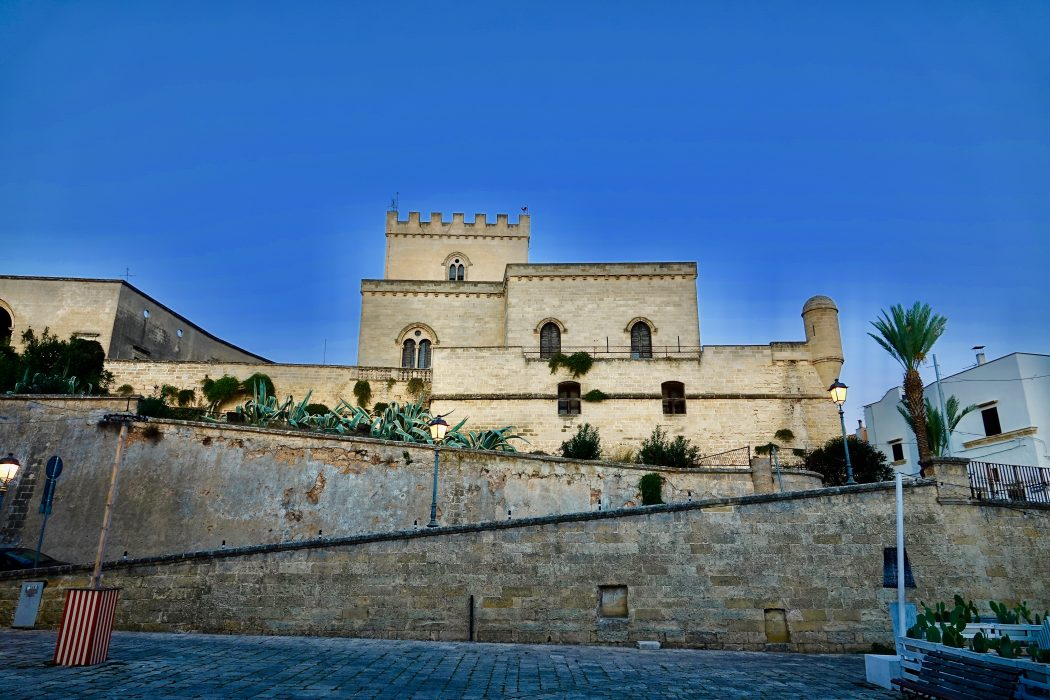Il castello Baronale di Parabita