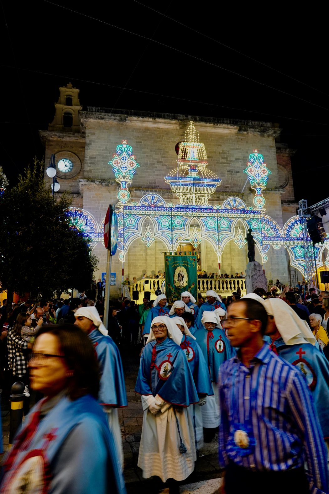 Alezio, la processione