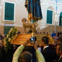 San Rocco e il suo cane