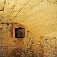 Le catacombe del santuario della Madonna della Lizza ad Alezio