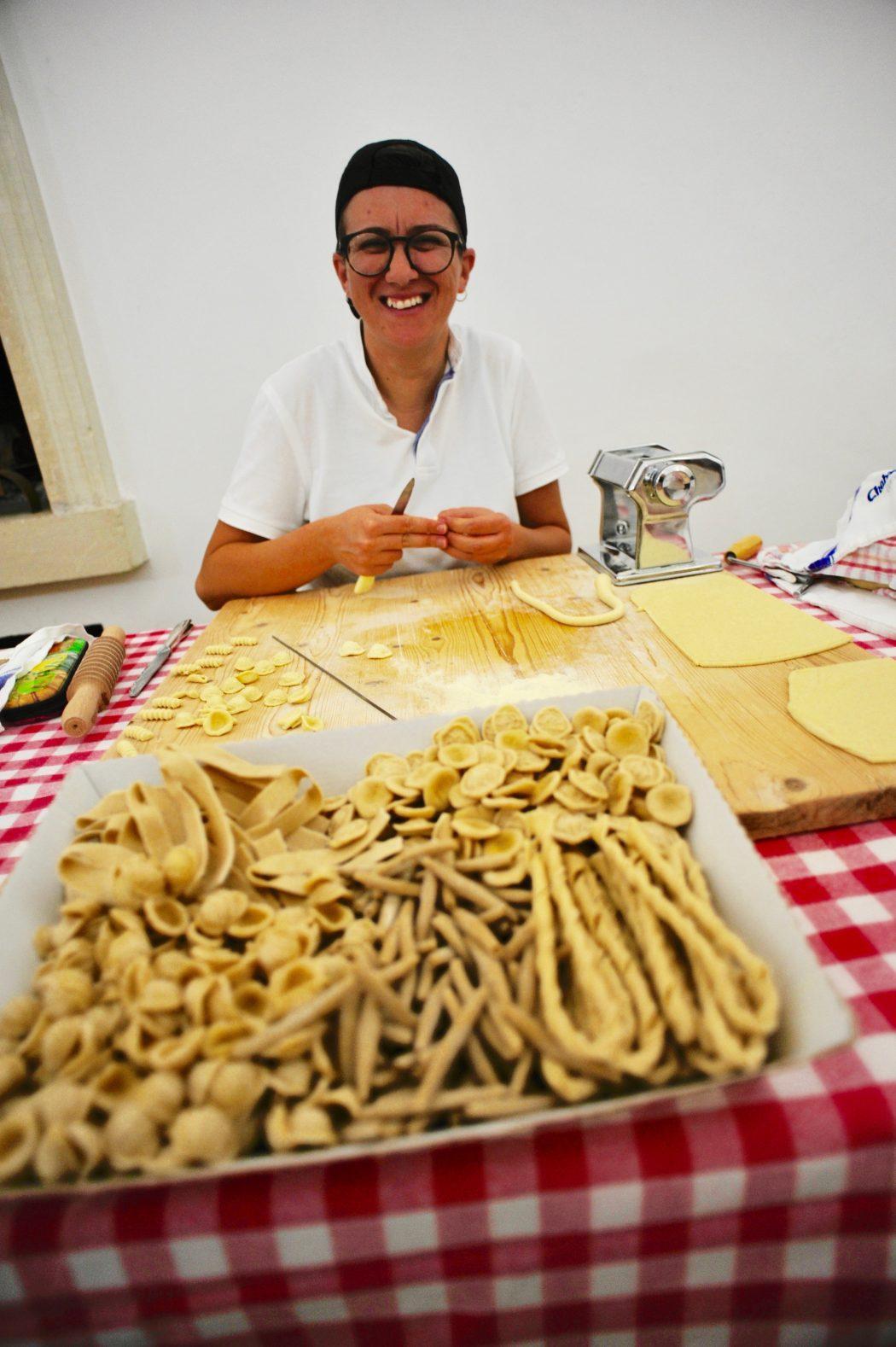 Come si prepara la tipica pasta salentina