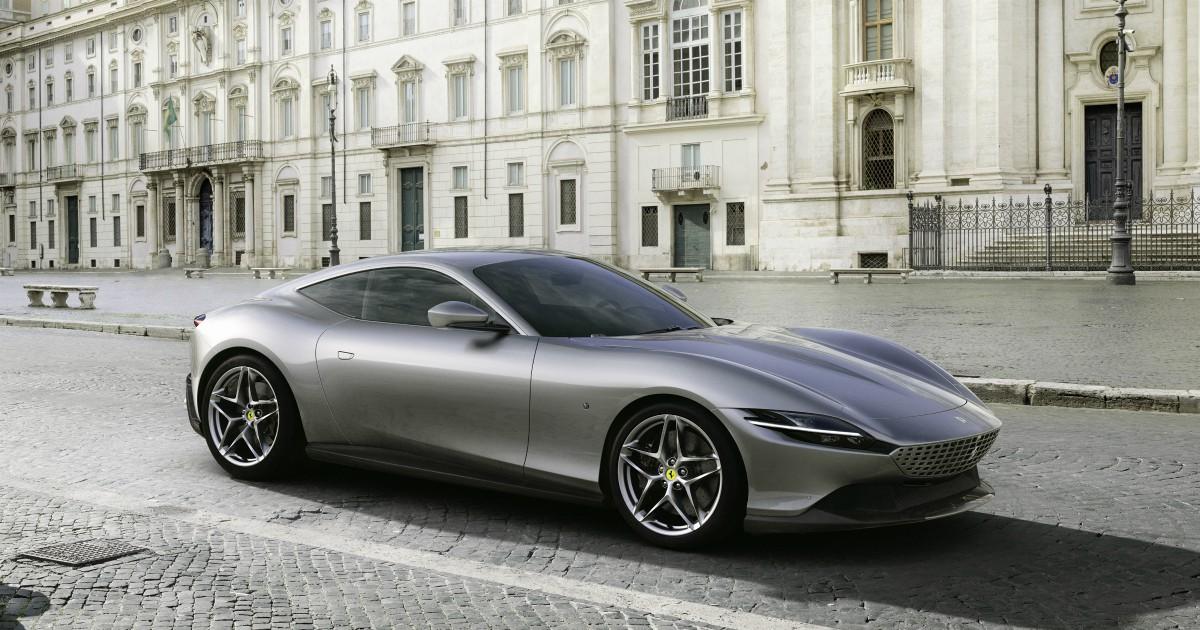 Ferrari Roma, debutta il nuovo coupé del Cavallino. E la Dolce Vita diventa Rossa – FOTO - Il Fatto Quotidiano