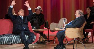 """Maurizio Costanzo incalza Silvio Berlusconi a cantare con Al Bano ma l'ex Cav. lo gela: """"Gli altri sanno fare solo questo"""""""