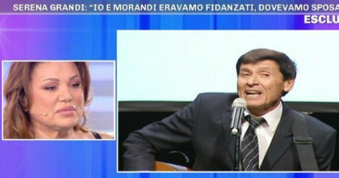 """Pomeriggio 5, Serena Grandi: """"Sono stata fidanzata con Gianni Morandi, è stato un grande amore"""""""