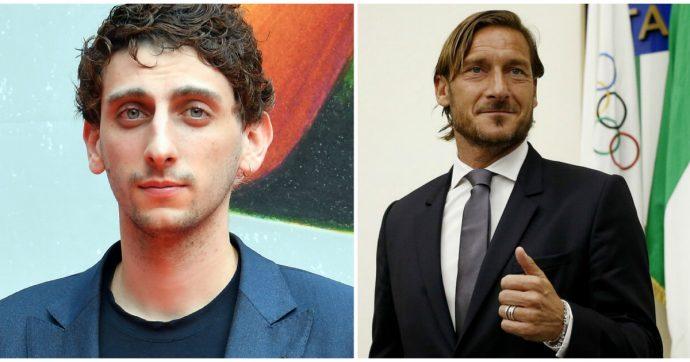 """Francesco Totti interpretato dal figlio di Sergio Castellitto in una fiction? """"Ha la stesso sguardo chiaro e limpido del Pupone"""""""