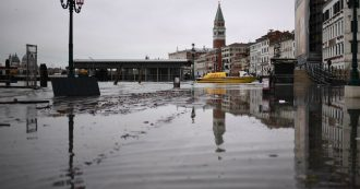 "High water in Venice, climate change disaster: ""Winds and sea level"". Flood risk studies"