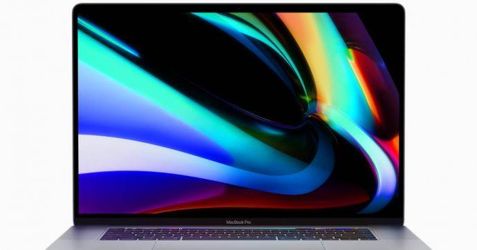 """Apple MacBook Pro 16: tastiera rinnovata, più potenza e lo schermo Retina """"più grande di sempre"""""""