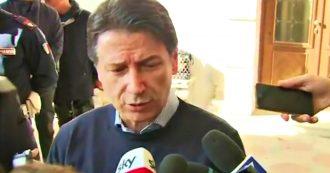 """Venezia, Conte: """"Pronti a dichiarare stato di emergenza. Polemiche nella maggioranza? Non mi faccio distrarre"""""""
