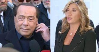 """La7 prova a collegarsi con Berlusconi, ma lui dopo un po' rinuncia: """"Sono di un'altra generazione"""". Myrta Merlino: """"No, non ce la fa"""""""