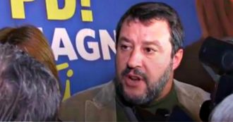 """Processo Cucchi, Salvini nega le scuse alla famiglia e dice: """"Se qualcuno ha sbagliato pagherà. La droga fa male e io la combatto"""""""