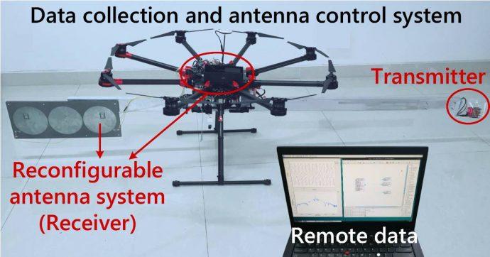 WideSee, la tecnologia wireless per droni che rileva le persone intrappolate negli edifici