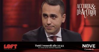 """Accordi&Disaccordi (Nove), Di Maio: """"Il Mose è stato il più grande monumento alla corruzione in Italia, ma va completato"""""""
