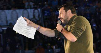Bologna, Salvini al PalaDozza lancia la campagna per le Regionali di Lucia Borgonzoni