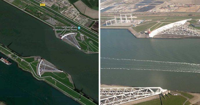 """Acqua alta, ecco come funzionano le paratie mobili di Rotterdam: """"Il modello Mose fu scartato per la manutenzione costosissima"""""""