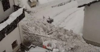 Maltempo, caos neve in Alto Adige. Valanga tra le case in Val Martello: il video