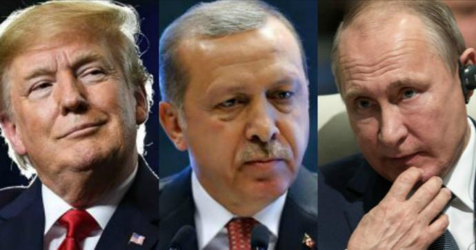Turchia, il doppio gioco di Erdogan con Trump e Putin funziona. Ma c'è un rischio
