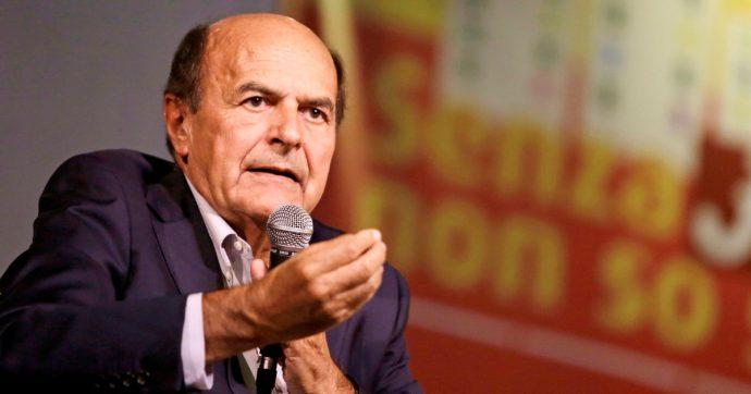 Il buonsenso di Bersani: presto si tornerà a dare spazio a gente seria