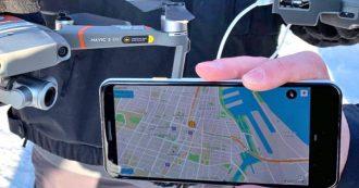 Per i identificare i droni DJI sconosciuti e monitorare i loro spostamenti basterà uno smartphone